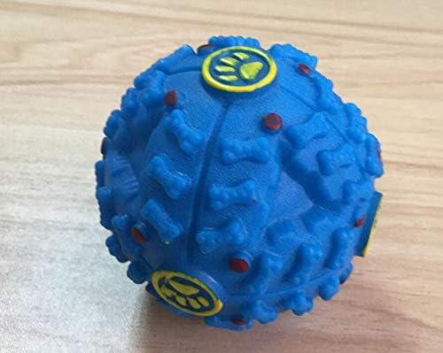 Peino - Pelota de juguete de plástico duro portátil para perros ...