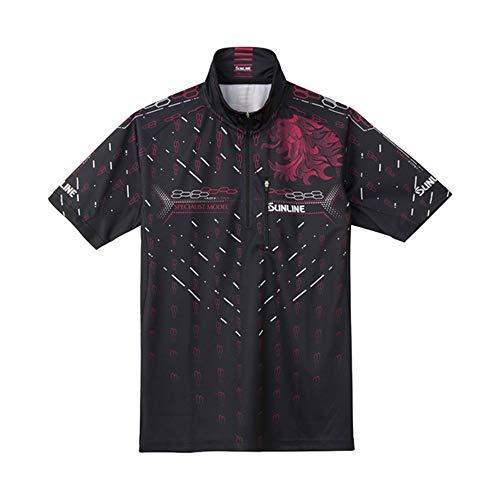 썬 라인 (SUNLINE) PRODRY 셔츠 (반 소매) M SUW-5573CW 블랙 / SUNLINE PRODRY Shirt (Short Sleeve) M SUW-5573CW Black