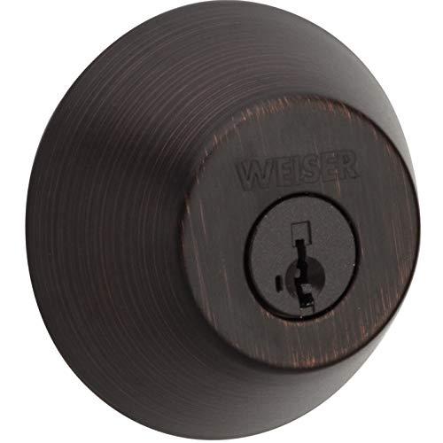 GD9371 SMT B Weiser Welcome Home Series Double Deadbolt SmartKey (Venetian Bronze)