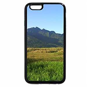 iPhone 6S / iPhone 6 Case (Black) mountains
