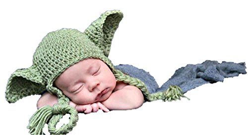 Flyme Baby Photography Clothes,Baby Knitting Clothes(Hat)]()