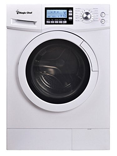 Magic Chef MCSCWD20W3 2.0 cu. ft. All-in-One Washer and Ventless Electric Dryer, White