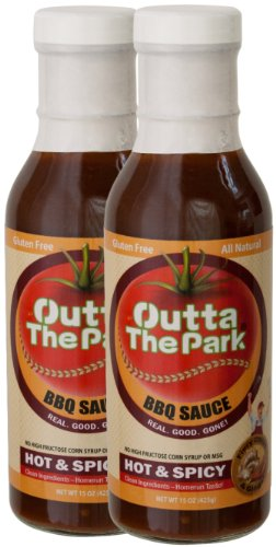 Outta The Park Hot & Spicy BBQ Sauce (2-Pack, 15 oz. Bottles) by Outta the Park