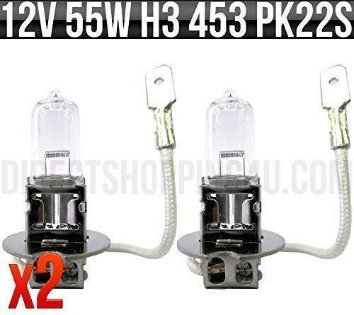 PACK OF 2 H4 472 CAR BULBS HEADLAMP HEADLIGHT 12v 60//55w FOG DIP AND MAIN BEAM