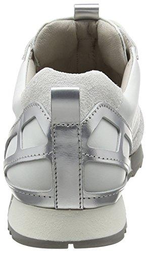 Kennel und Schmenger Cube, Baskets Basses Femme Blanc - Weiß (bianco S.weiss-grau 667)