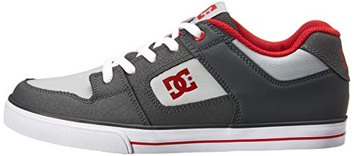 Pictures of DC Pure Elastic Skate Shoe Grey 11. ADBS300350 Grey 5