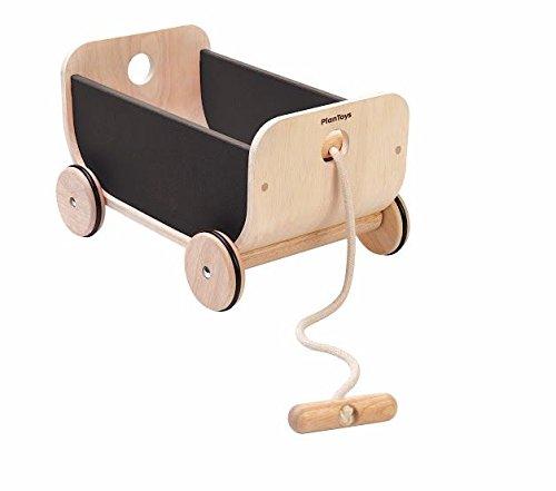PlanToys 8619 Wagon- Black Ride On