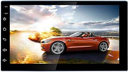 カーステレオ 2 Din マルチメディア プレーヤー 12V 7インチ クアッドコア GPS BT WF Android iPhone対応 Hillrong