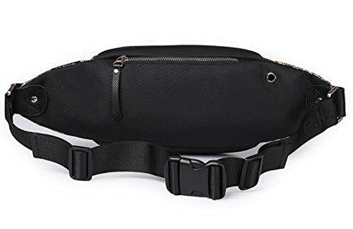 Fashion Herren Bewegung Taschen Run Damen und Herren Outdoor Kleine Rucksack Tuch Stecker Brust Pack Schulter Messenger Bag color intrigue