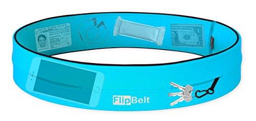 FlipBelt Level Terrain Waist Pouch, Aqua, X-Small/22-25 by FlipBelt (Image #2)