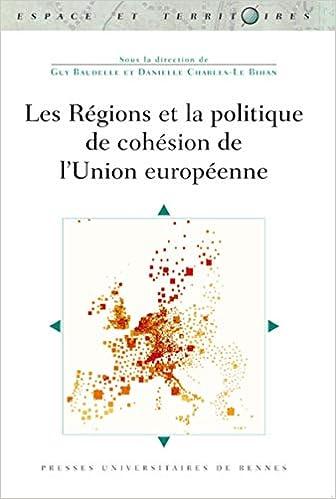 Amazon Fr Les Regions Et La Politique De Cohesion De L