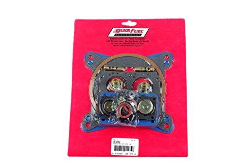 Quick Fuel Technology 3-202 Non Stick Rebuild Kit for 4150 Style Carburetor