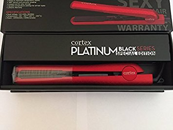 cortex platinum black flat iron - 2
