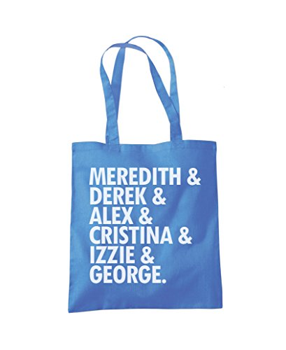 Blue Meredith Cornflower Fashion Bag Alex Tote Shopper Bag Meredith Tote Fashion Shopper Alex Derek Derek UUwrAHnx64