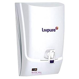 Livpure-Glitz-Silver-RO-UF-Mineralizer-7-Ltr-RO-Water-Purifier