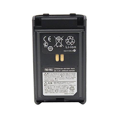 FNB-V96LI FNB-V95LI Lithum-ion Battery Pack 7.4V 2300mAh Replacement Battery for Yaesu Vertex VX-350, VX-351, VX-354 by Yeacomm