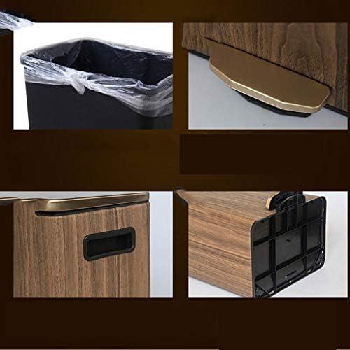 ゴミ袋 ゴミ箱用アクセサリ 家庭用リビングルームベッドルームリッドゴミ箱9 L / 12 Lクリエイティブペダルステンレススチール収納バケツ キッチンゴミ箱 (サイズ : L)