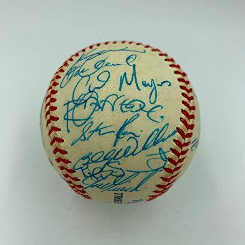 2000 Chicago Cubs Team Signed MLB Baseball Sammy Sosa Mark Grace COA - PSA/DNA Certified - Autographed Baseballs