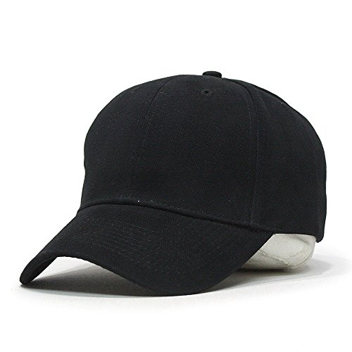 low profile baseball hats fitted cap classic brushed bull denim cotton adjustable various colors black