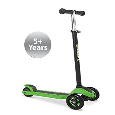 Yvolution Glider Scooter, Children's, Green, Size XL : Sports & Outdoors