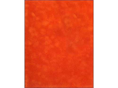 Sew Easy Industries 12-Sheet Velvet Paper, 8.5 by 11-Inch, Rust by Sew Easy Industries
