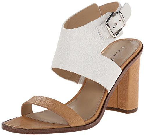 official site sale online great deals online Via Spiga Women's Belia Gladiator Sandal Tan/White MyNQu