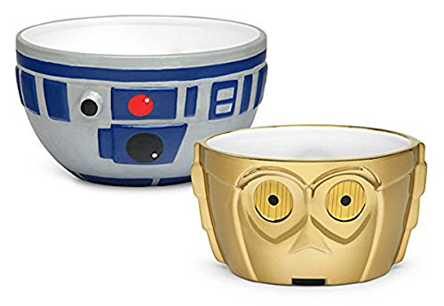 Disney Star Wars R2-D2 and C-3PO Ceramic Bowl Set