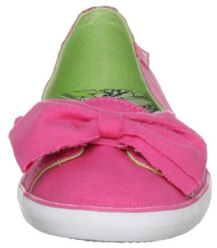 Pink Ballerine Solid donna Pink Rosa WF46801 Capri Keds BHPSZqOwSx