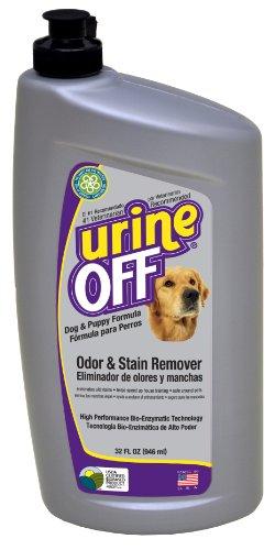 Urine Off Flecken- und Geruchsentferner für Hunde und Welpen mit Teppich Injektor Gap, 946ml