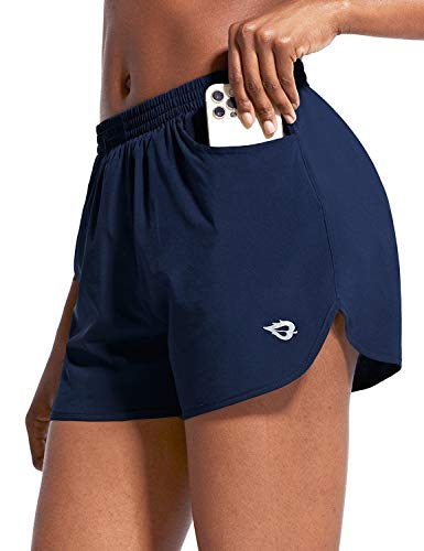 "BALEAF Women's 3"" Running Athletic Shorts Quick Dry Gym Workout Shorts with Pockets"