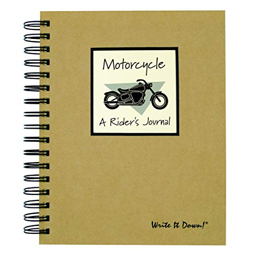 Write it Down Series Motorcycle, A Rider's Journal (JU-37)
