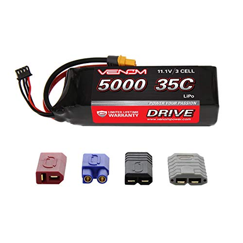 Venom 35C 3S 5000mAh 11.1V LiPo Battery with Universal Plug