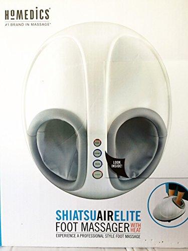 Homedics Shiatsu Air Elite Foot Massager with Heat Homedics Foot Massager