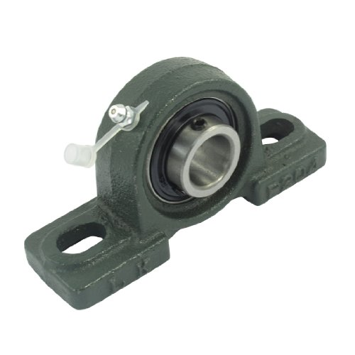 20 Mm Mounted Bearing (uxcell UC204 20mm Bore Self-aligning Vertical Mounted Pillow Block Bearing P204)