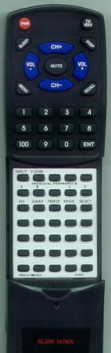 SHARP Replacement Remote Control for 27KS300, 27LS300, 36NS400, CL36S40, RRMCG1396CESA