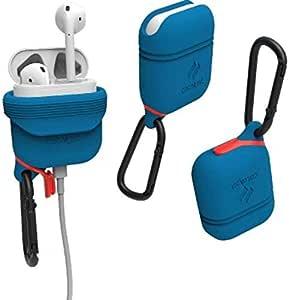Catalyst Waterproof Headset Case, for (Apple) AirPods, Blueridge/Sunset