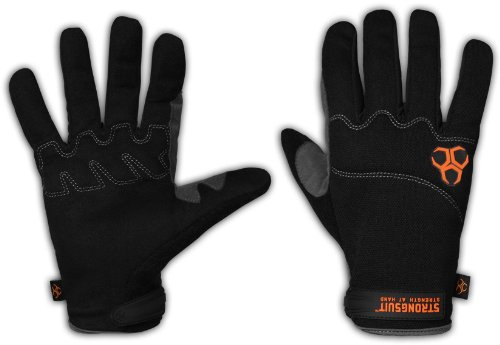 StrongSuit 10500-L DIY Light-Duty Work Gloves, Large by StrongSuit