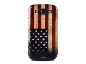 Puro - Carcasa para Samsung Galaxy S3, diseño de la bandera de Estados Unidos