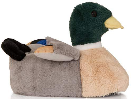 Pantofole Donna Loungeable Boutique green Novità Comodo Duck Grey Animale H4qX5qpn