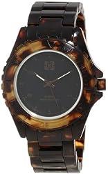 KR3W Men's K1425BNTO Phantom Elite Brown Marbleized Tortoise Shell Watch