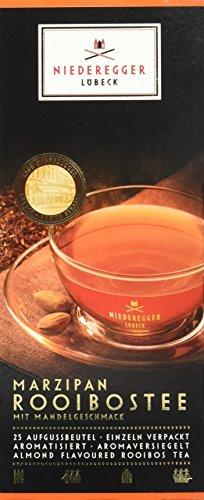 Niederegger Marzipan-Rooibos-Tee, 25 Beutel,10er Pack (10x 43,75 g)