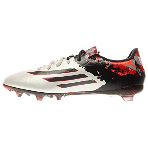 Nueva Adidas Messi 10.2 Fg fútbol Grapa Blanco / 8 escarlata White, Black, Red