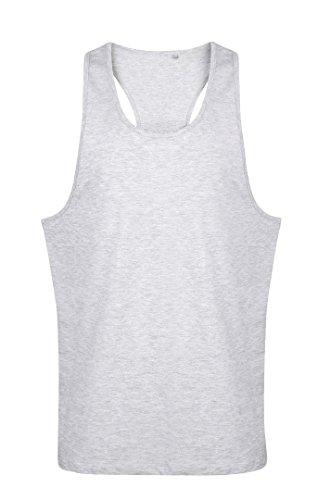 Tanx - Camiseta sin mangas - para mujer gris