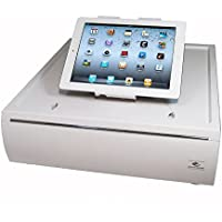 APG VTC320-AW1617 Stratis Cash Drawer with Chrome Accent, White