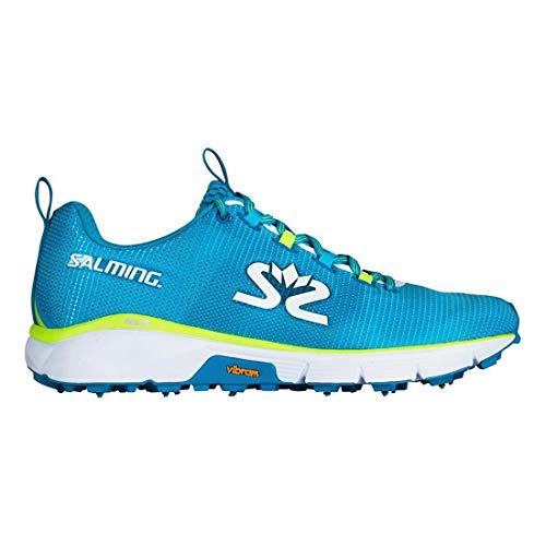 Cyan White Salming Shoe Bleu Men Blue Ispike HqnOZPwp