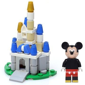 LEGO Mickey Mouse Minifigure with Magical - Castle Mickey