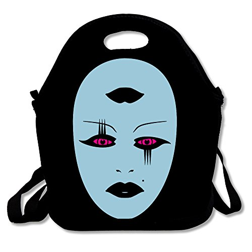 ROBOTOAF Opera Mysterious Face One Size Waterproof Outdoor Travel Picnic Fancy Bag Storage Bag With Zipper And Adjustable Crossbody Strap (Energy Saver Toaster Oven compare prices)