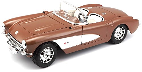 Maisto 1:18 Scale 1957 Chevy Corvette Diecast Vehicle (Colors May (Diecast 1957 Chevy Corvette)