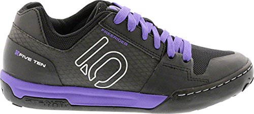 Five Ten Freerider Contact Women's Flat Pedal Shoe: Split Purple 7.5