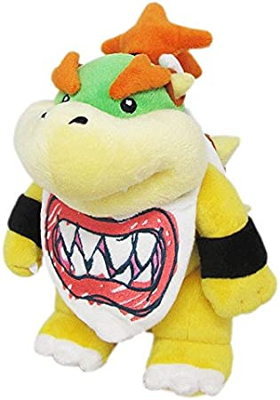 Little Buddy Super Mario All Star Collection 1424 Bowser Jr Stuffed Plush 8